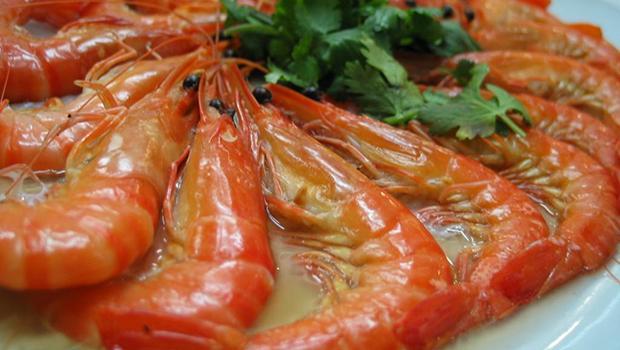 crevettes géantes